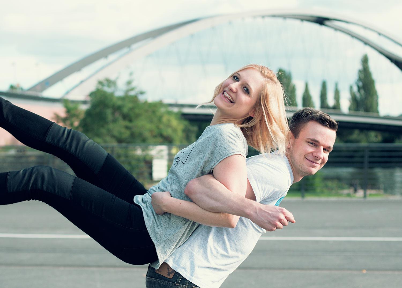Freundschaftsshooting mit Eike und Katha - Frankfurter Ostend